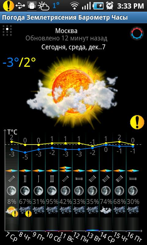 скачать программу погода на андроид - фото 9
