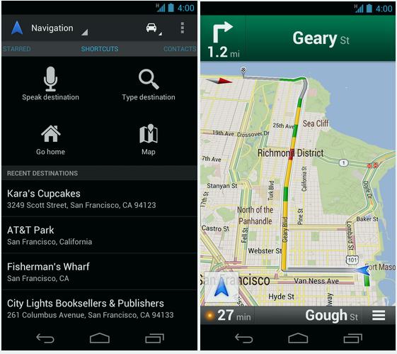 Google навигатор для андроид - фото 3