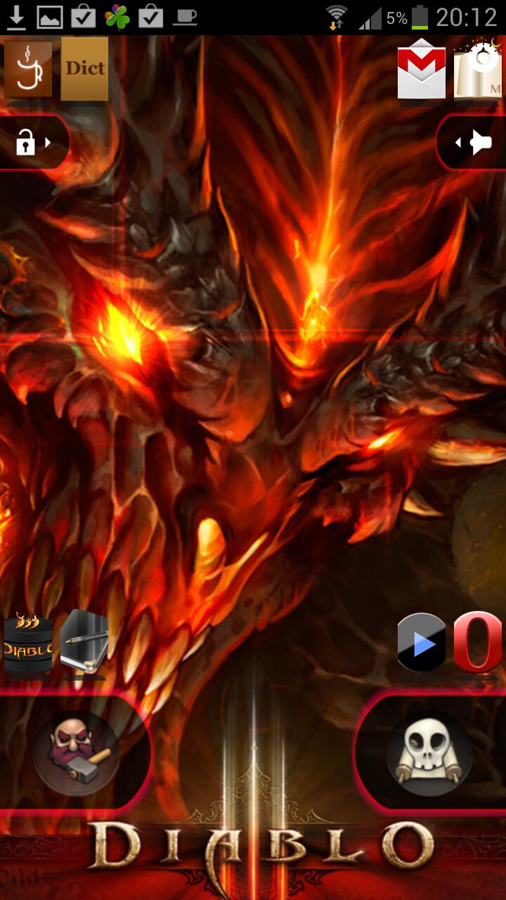 Locker на тему Diablo 3