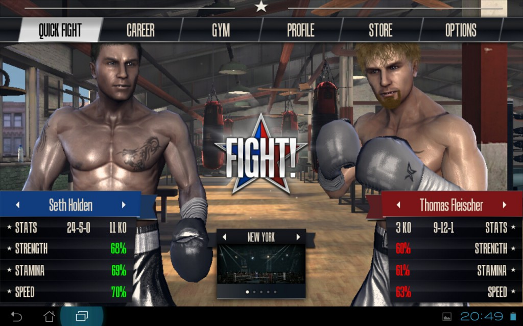 Real Boxing Android Вылетает