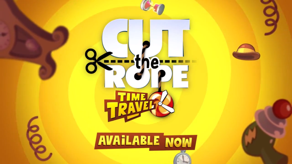 Cut the Rope Time Travel available now