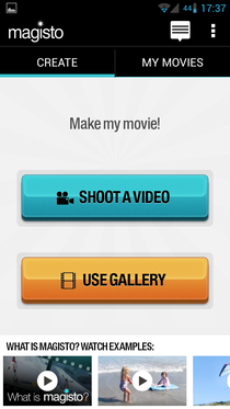 Видео монтажную програмку для дроид