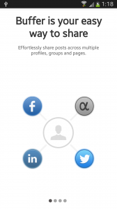 App.net, Facebook, Linkedin, Twitter