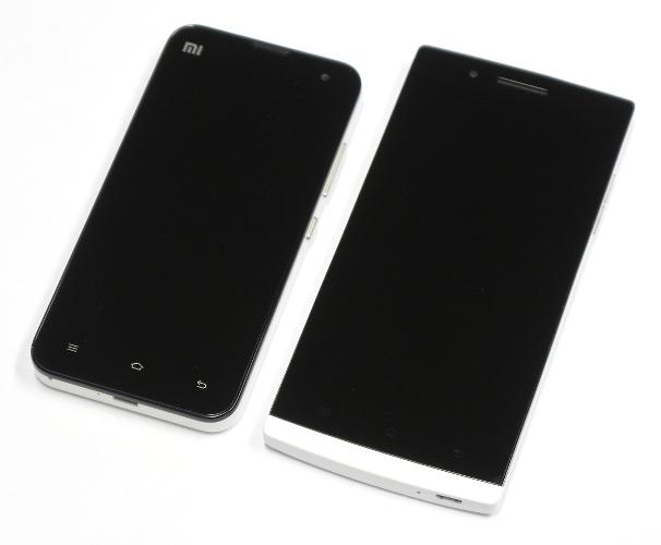 Xiaomi Mi-2S и Oppo Find 5