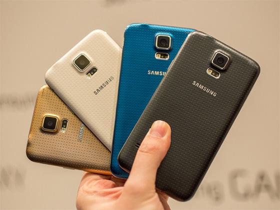 Samsung Galaxy S5 - без золота никуда