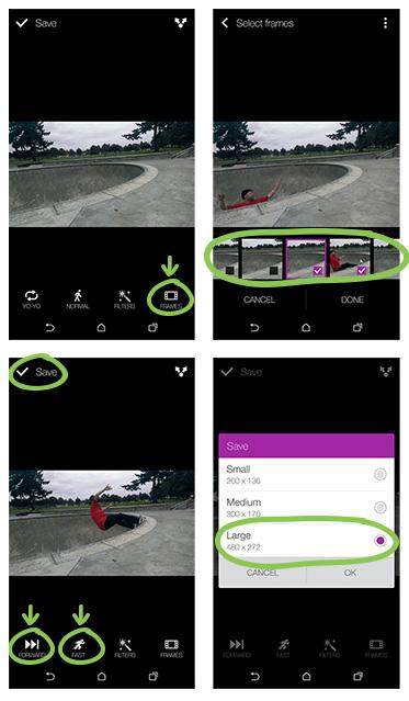 Создаем анимированные гифки на HTC One (M8)