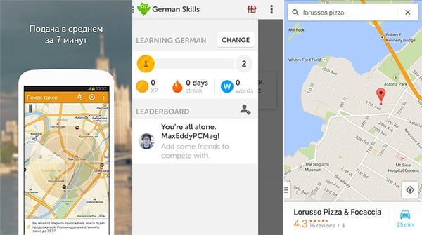 100 лучших приложений для Android в 2014 году.  Путешествия