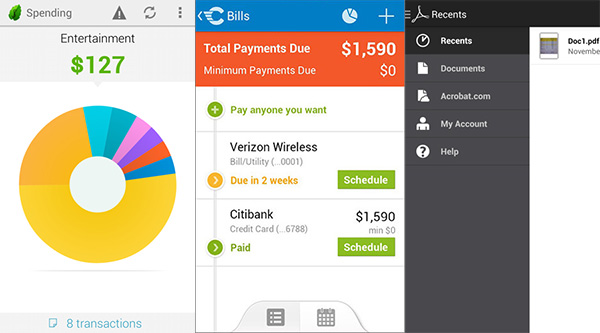 100 лучших приложений для Android в 2014 году Дела и финансы