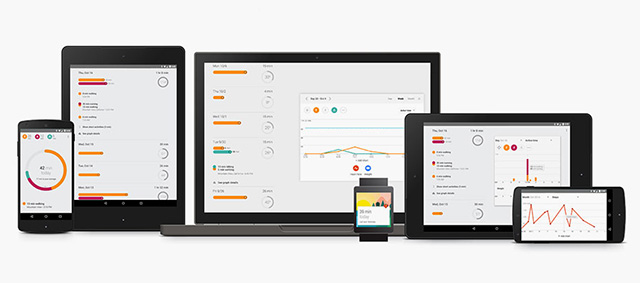 Google запускает Android приложение Google Fit