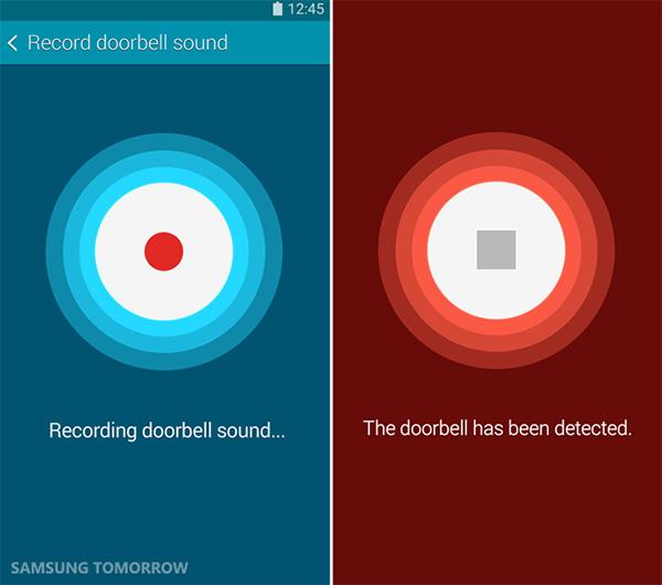Запись и распознавание дверного звонка