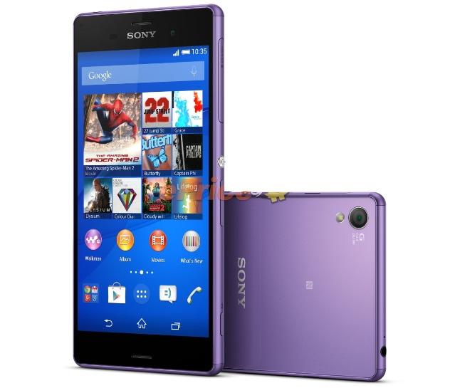 Sony Xperia Z3 Purple Diamond Edition - смартфон в пурпурных тонах