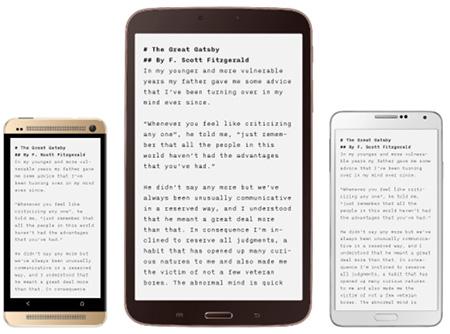 iA Writer – теперь на Android