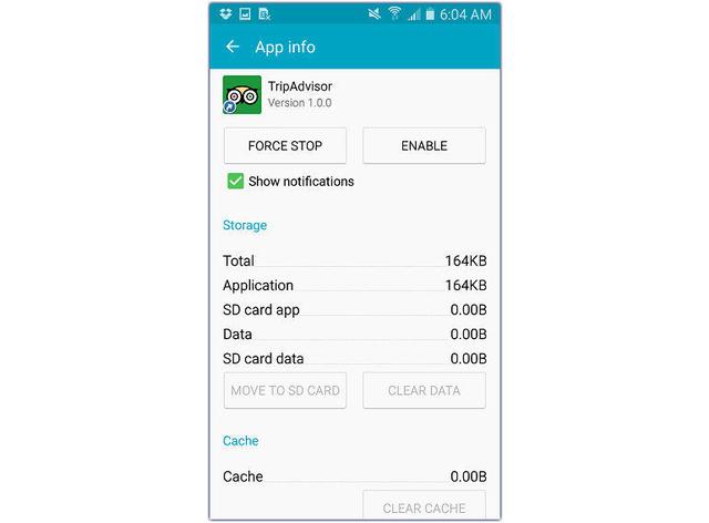 Страничка с информацией о приложениях позволит вам отключить те, которыми вы не пользуетесь