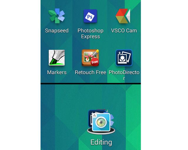 Вместо нагромождения иконок приложений на домашнем экране – аккуратные папочки