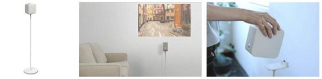 Sony Portable Ultra Short Throw Projector - узоры, часы, фильмы и не только