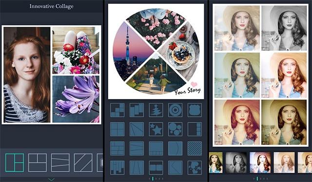Как создать коллаж из фотографий в видео