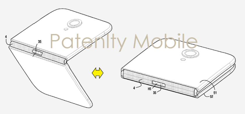 Samsung-folding-smartphone-patent