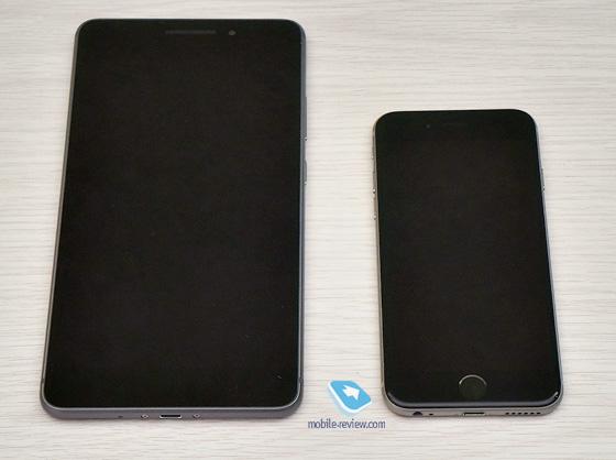 Lenovo Phab в сравнении с iPhone 6