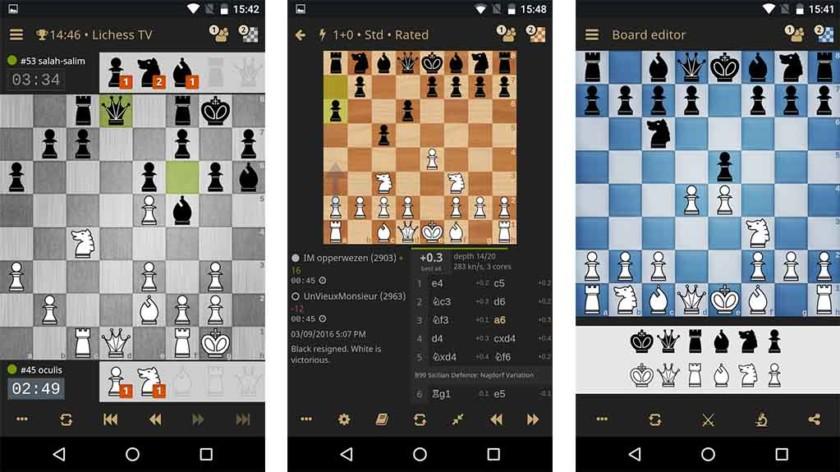 Шахматы на андроид хорошие