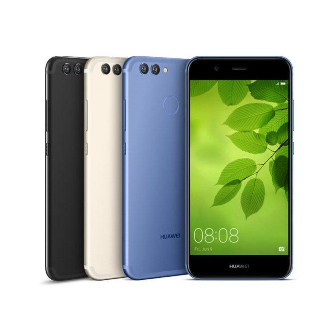 Озвучены русские цены на мобильные телефоны Huawei Nova 2 иNova 2 Plus