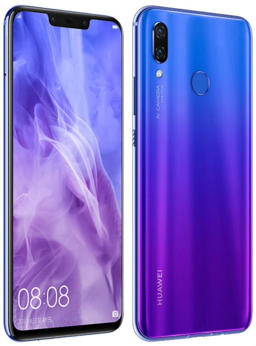 Huawei Nova 3 appeared in the online store of the manufacturer