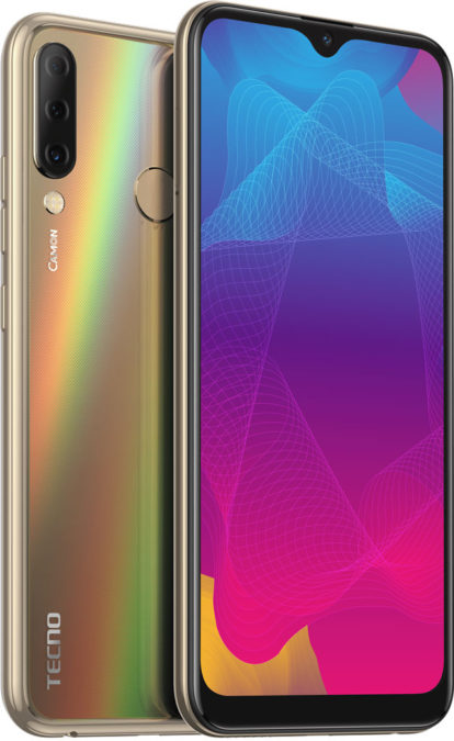 TECNO CAMON 11S smartphone with triple main camera for the price