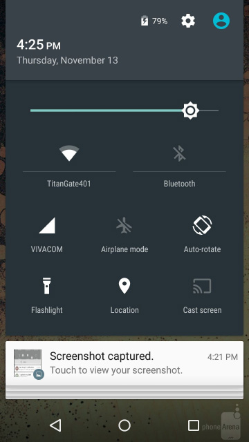 Настройка панели уведомлений android