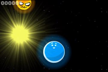 Астероиды стоит разрушать световыми шарами...