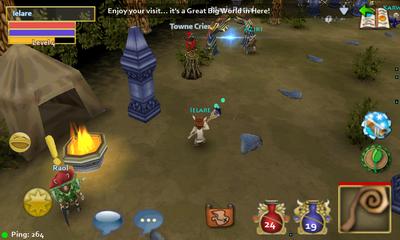 Pocket Legends. Настоящая MMORPG на смартфоне