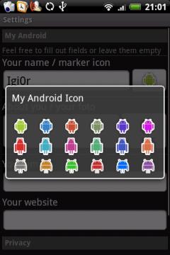 Выбрать, какой Android ты: зеленый, или может красный, или в плаще?