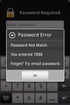 Ошибиться при вводе пароля можно бесконечное число раз. Если вы действительно забыли установленный ранее код, необходимо настроить подсказки, чтобы в дальнейшим такая ситуация не повторилась.