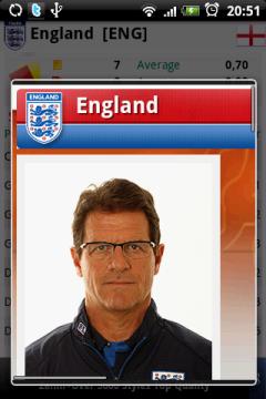 Если ткнуть в фамилию игрока или тренера, можно посмотреть фотографию...