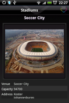 Информация о стадионе.
