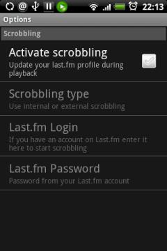 Можно активировать скроблинг, тогда Astro с помощью last.fm будет отслеживать прослушанные композиции.