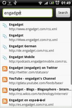 Если вы ищите RSS какого-нибудь зарубежного сайта, можно воспользоваться поиском...