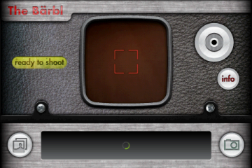 С выбором камеры меняется интерфейс программы...