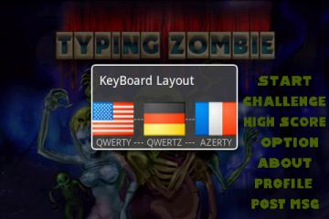 Так же можно выбрать раскладку клавиатуры. К сожалению, среди представленных русской клавиатуры нет.