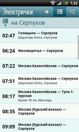 Москва каланчевская серпухов расписание электрички по выходным дням