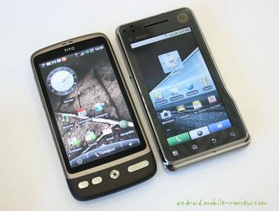 Габариты - почти как у HTC Desire