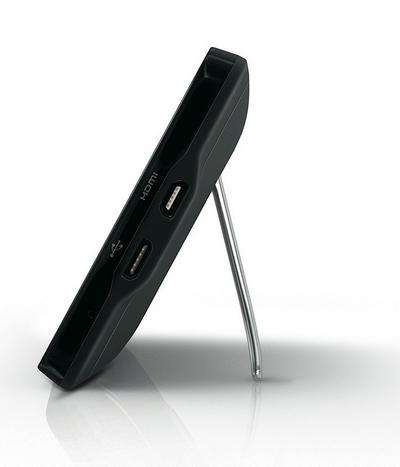 Ножка в EVO с его огромным экраном более чем уместна. Поставил на стол и спокойно смотришь сериал
